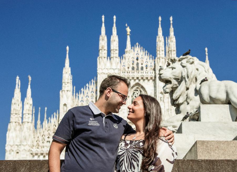 Engagement Milano- Fotografo Engagement Milano - Engagement Claudia ed Emanuele