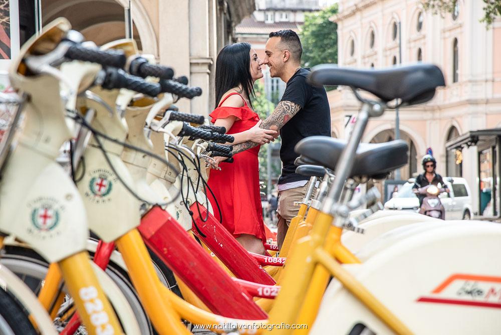 Fotografo Engagement Milano - Engagement Sara e Alessandro