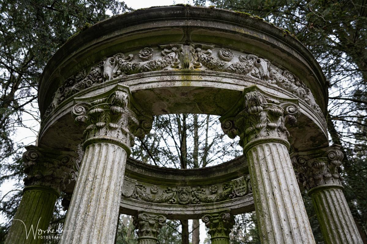 """Das """"Tempelchen"""" auf dem Südfriedhof"""