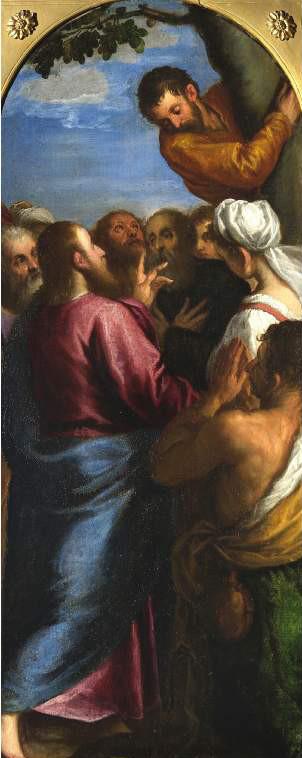 Cristo chiama Zaccheo (Jacopo Palma - Fitzwilliam Museum)