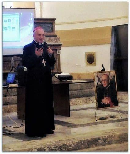 Mons. Salvatore Di Cristina, Arcivescovo emerito di Monreale, assistente ecclesiastico nazionale del movimento Pro Sanctitate