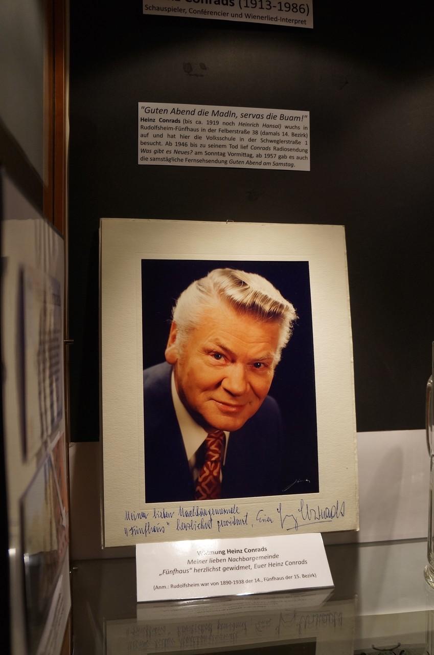 Heinz Conrads wuchs in der Felberstraße auf.