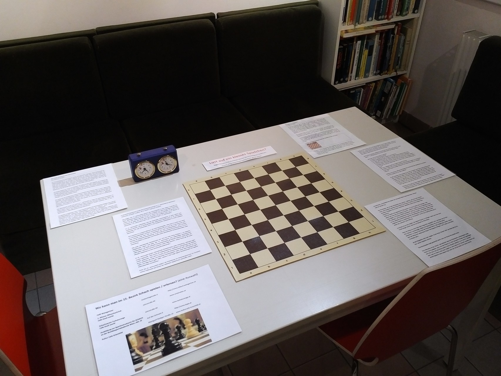 Ein Partie Schach gefällig? Kommen Sie ins Museum!