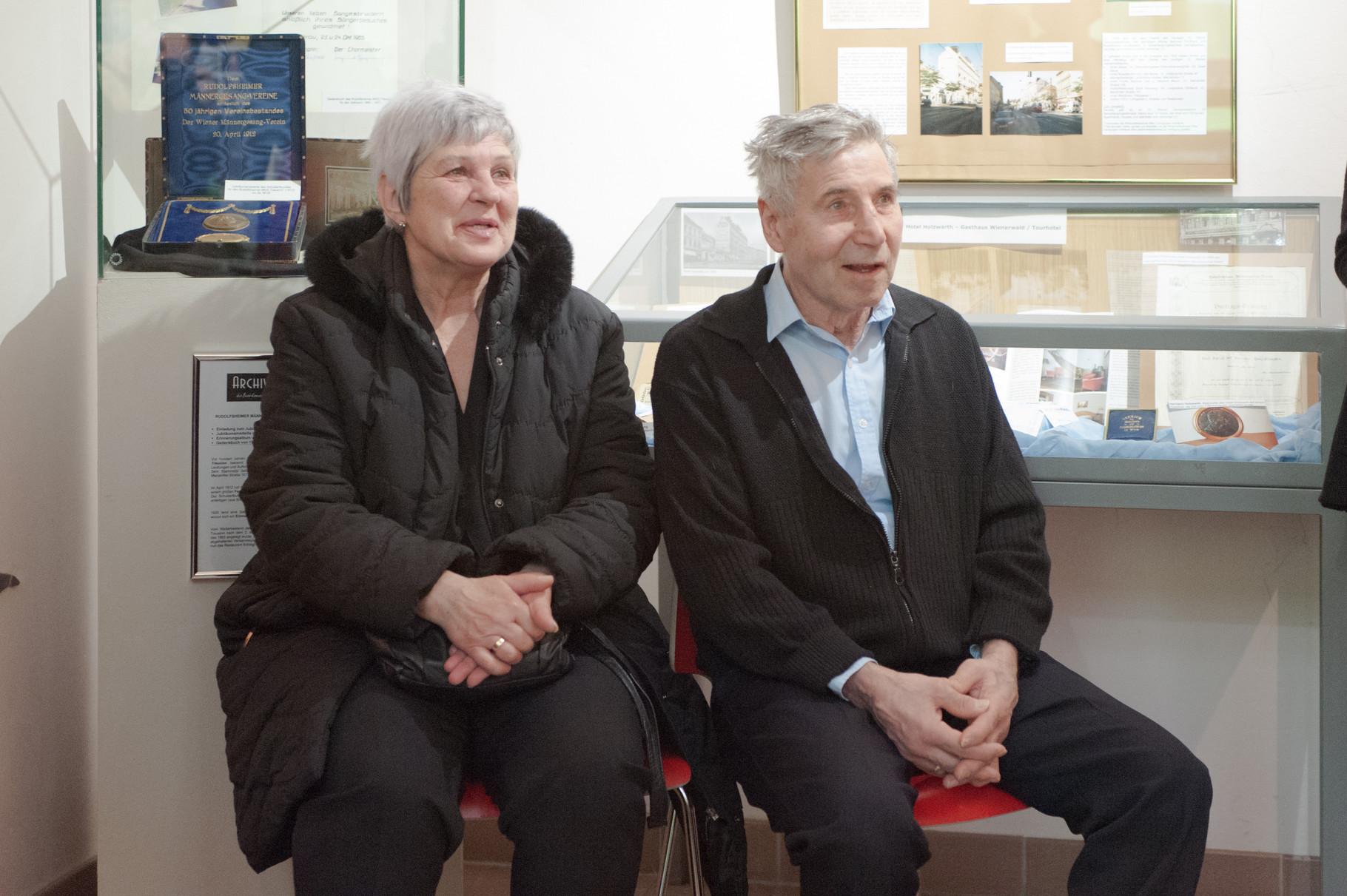 Hans Orsolics mit seiner Frau Roswitha.