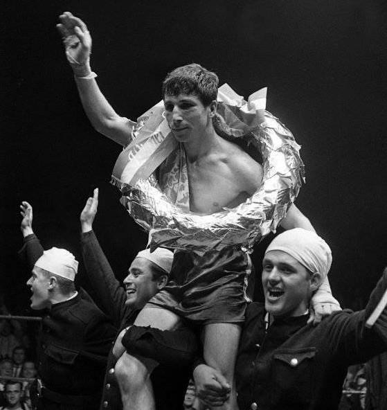Hans Orsolics wurde am 6. Juni 1967 in der Wiener Stadthalle Europameister im Halbweltergewicht