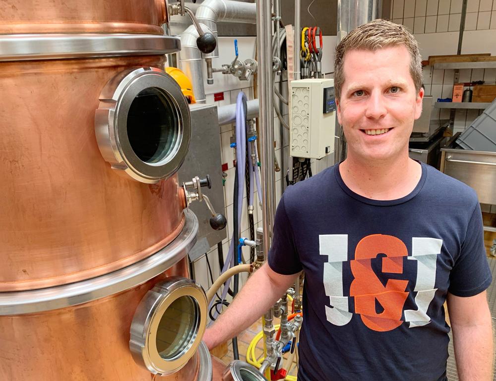 Thomas Blum, neuer wissenschaftlich-technischer Mitarbeiter Brennerei