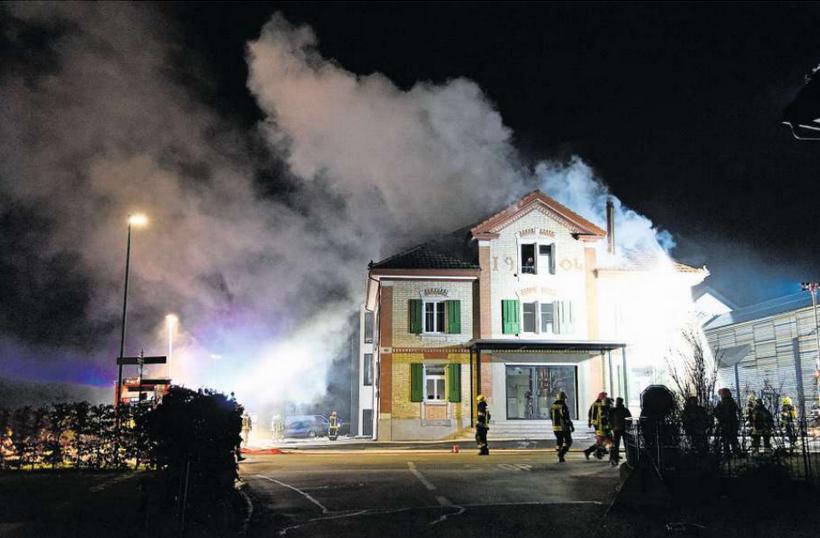 Brand kam nach dem Brennen