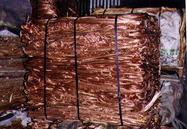 Kupfer Schrott