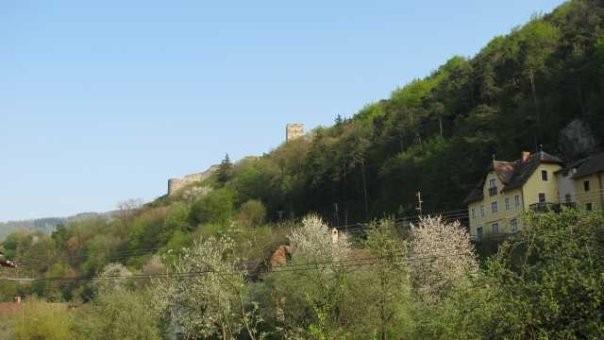Wachau, Spitz, Ruine Hinterhaus