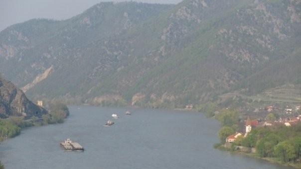 Wachau, Spitz mit Donau
