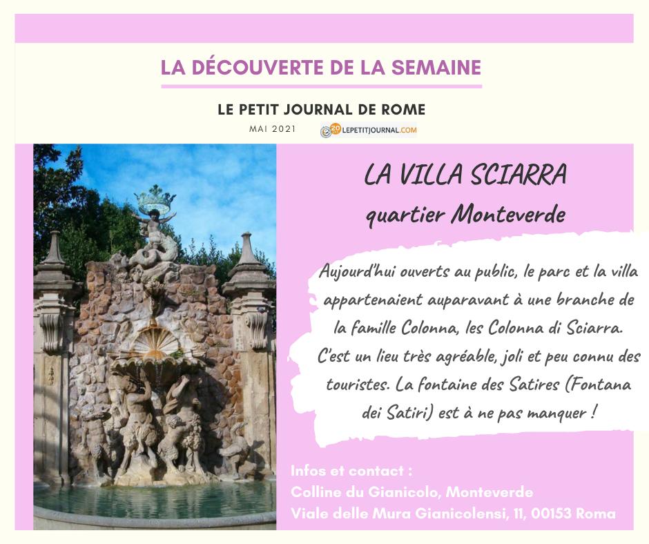 Villa Sciarra a Roma