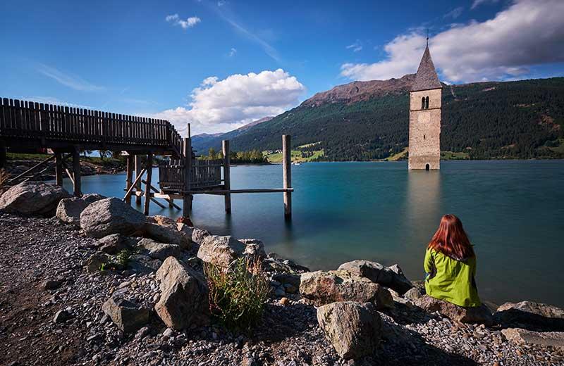 Lago di Resia, Trentino Alto Adige