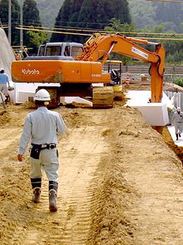 EPS工法 軽量盛土材