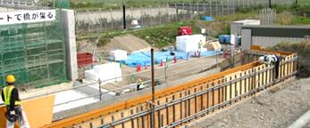 羽田空港エプロン整備事業 | EPS工法 軽量盛土材