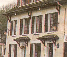 la maison d'enfance: l'auberge de la Ville d'Auxerre