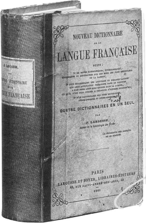 l'ancêtre du Petit Larousse