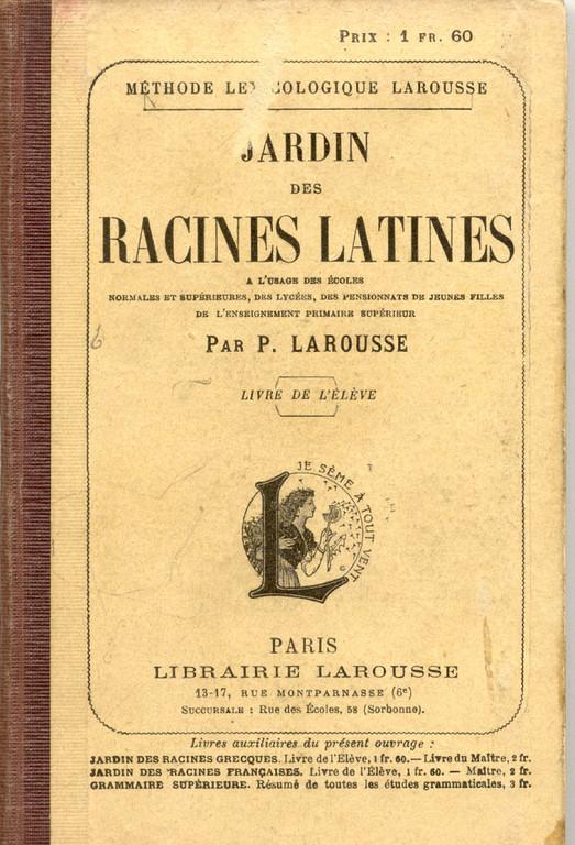 les premiers ouvrages scolaires de Pierre Larousse