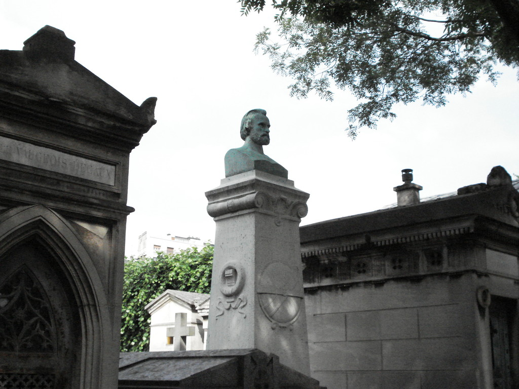 Au cimetière du Montparnasse