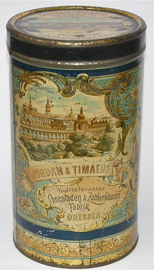 Jordan & Timaeus Kakao Container Blechdose