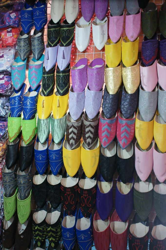 Pantoffeln in allen Farben