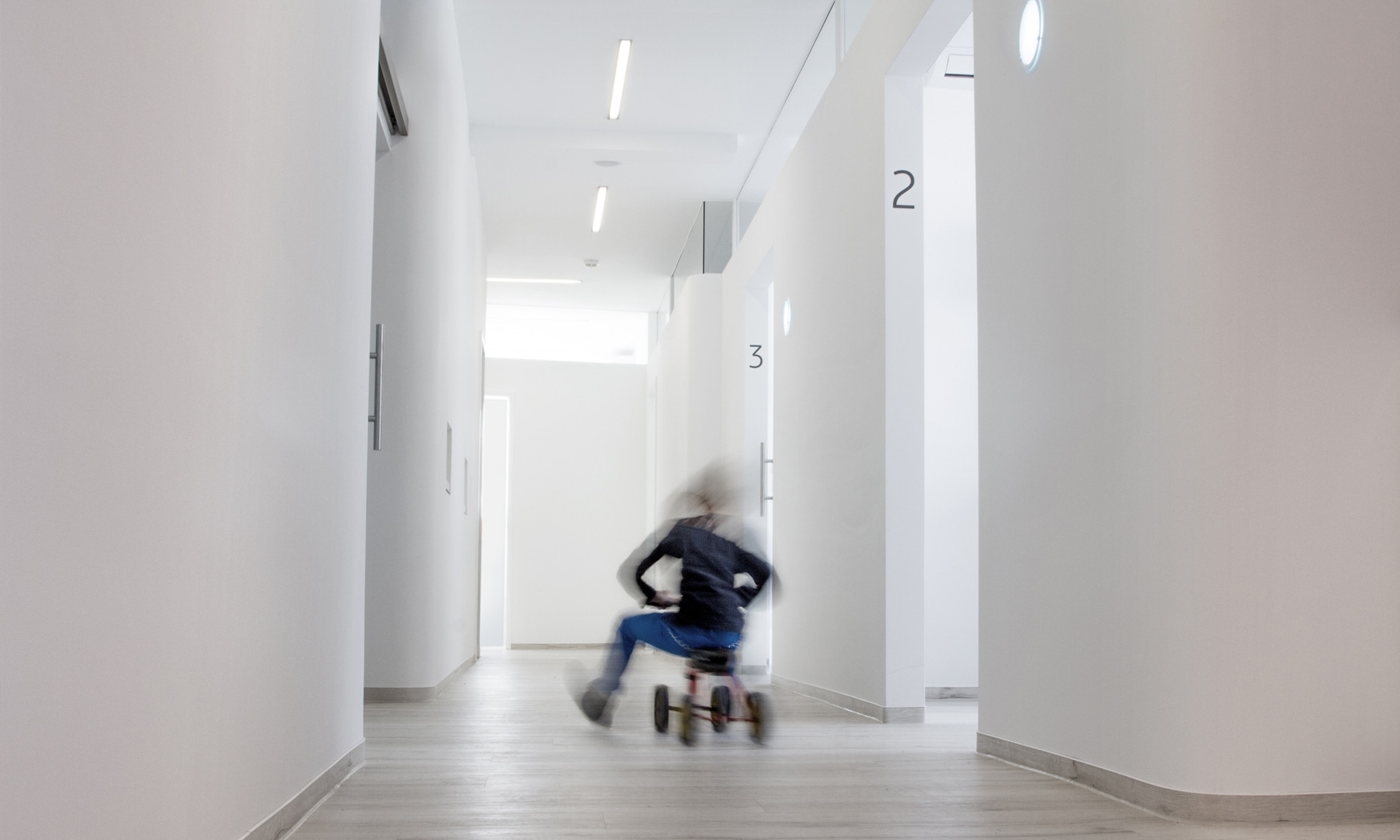 Am Kindersamstag können die kleinen unsere Praxis erkunden