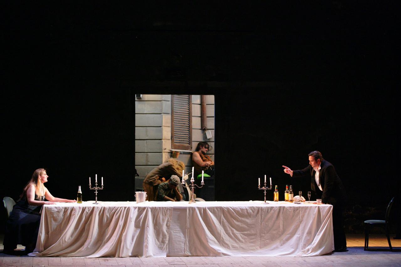 Ariadne auf Naxos (Mélanie Moussay, Carsten Süss), Foto (c) Wolfgang Runkel