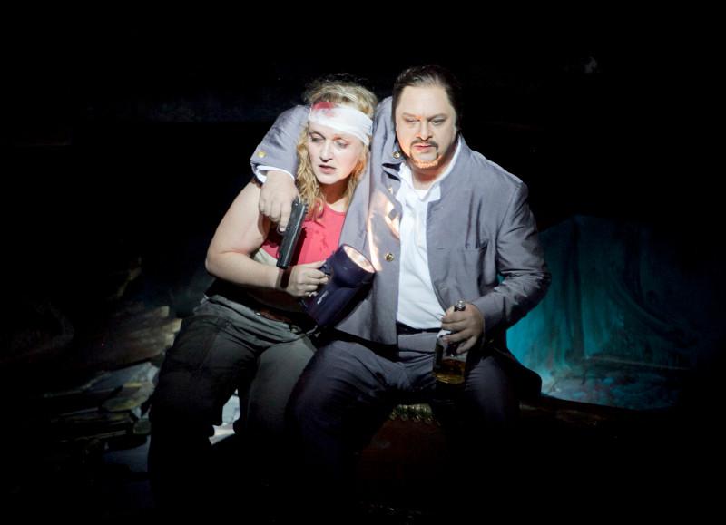 Elektra und Aegist (Alexander Spemann) Foto: M.Pipprich