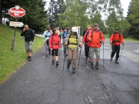 Erste Kettenclub Mariazell Wanderung 2010