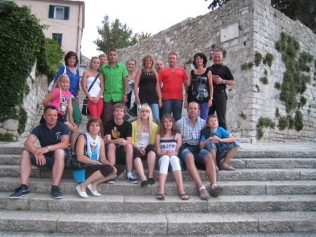 Kettenclub Sommerausflug 2012 Insel Rab!