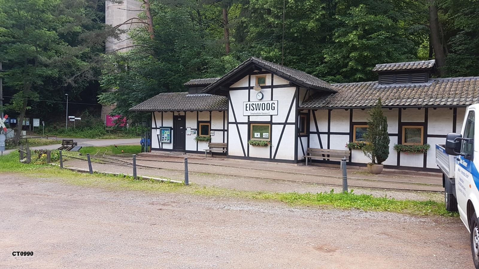Bahnhof Eiswoog der Stumpfwaldbahn