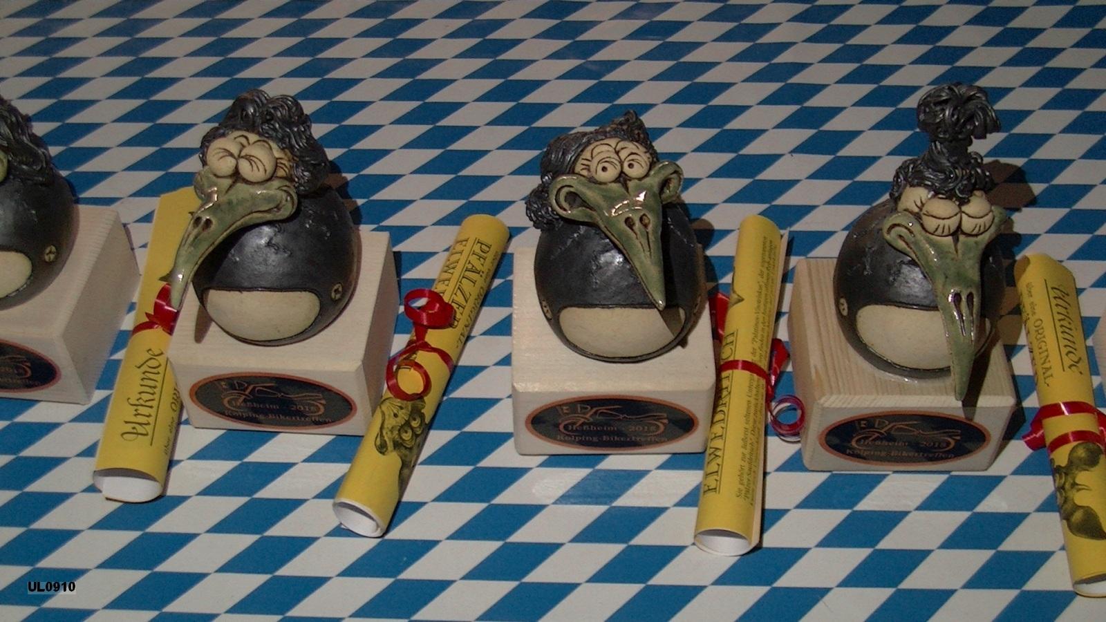 Die Elwedritsche-Pokale