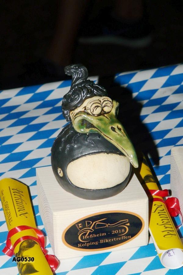 Elwedritsche-Pokal, handgefertigt vom Keramik-Atelier Rupp (Frankenthal)