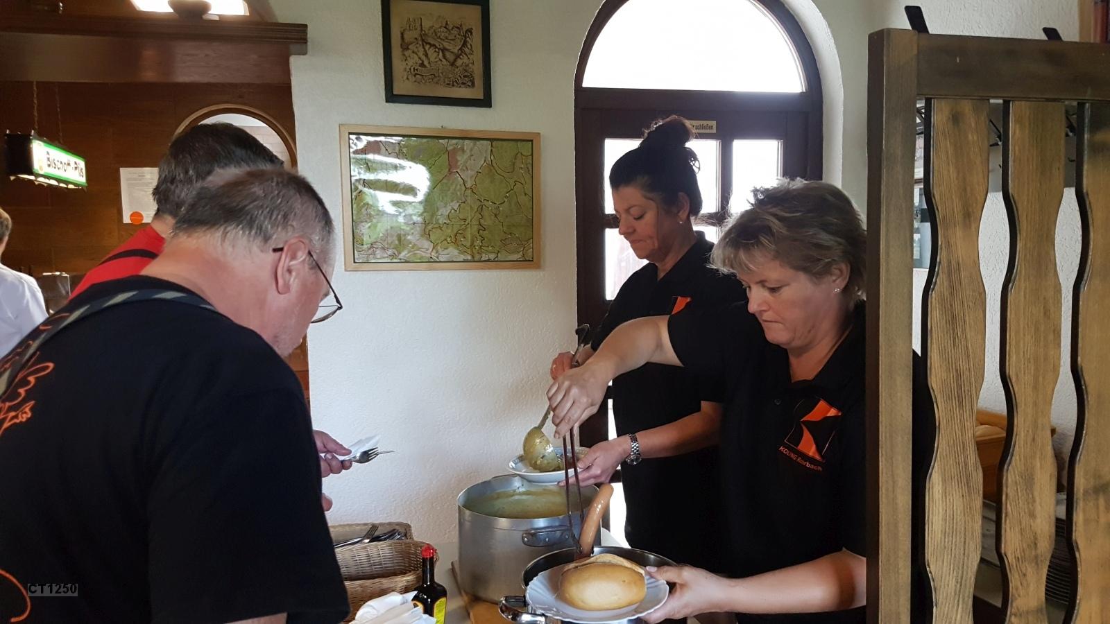 Unser Dank gilt der   Kolpingsfamilie Rohrbach für die gute Mittagsversorgung