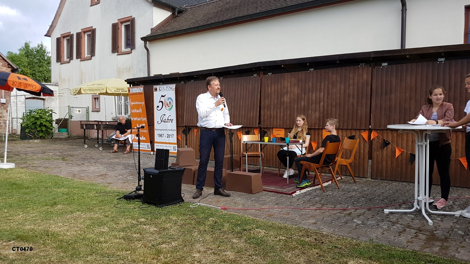 Begrüßung durch unseren Schirmherren, Verbandsgemeindebürgermiester Michael Reith