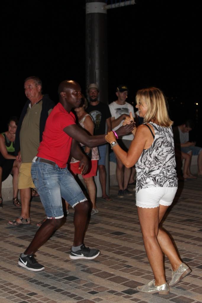 Let's Dance Summer, sur le Remblai des Sables d'Olonne