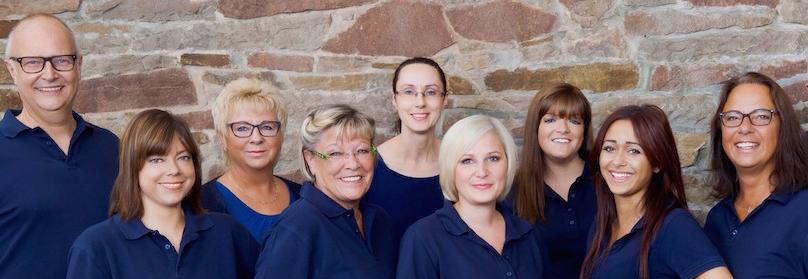 Das Team der Zahnarztpraxis Dr. Ulrich Kröger in Herdecke