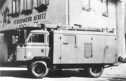 Rüstwagenweihe am 11.07.1965
