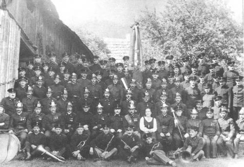 50- jähriges Gründungsfest der Freiwilligen Feuerwehr Afritz im Jahre 1963.