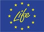 Logo et accès au site Life de la Commission Européenne