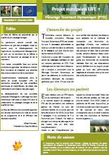 Newsletter 2 - Life PTD - Décembre 2015