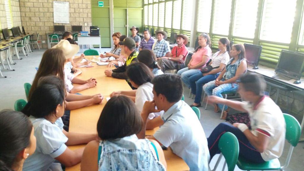 Fotos Suministrada por Estudiantes para Despierta Charalá