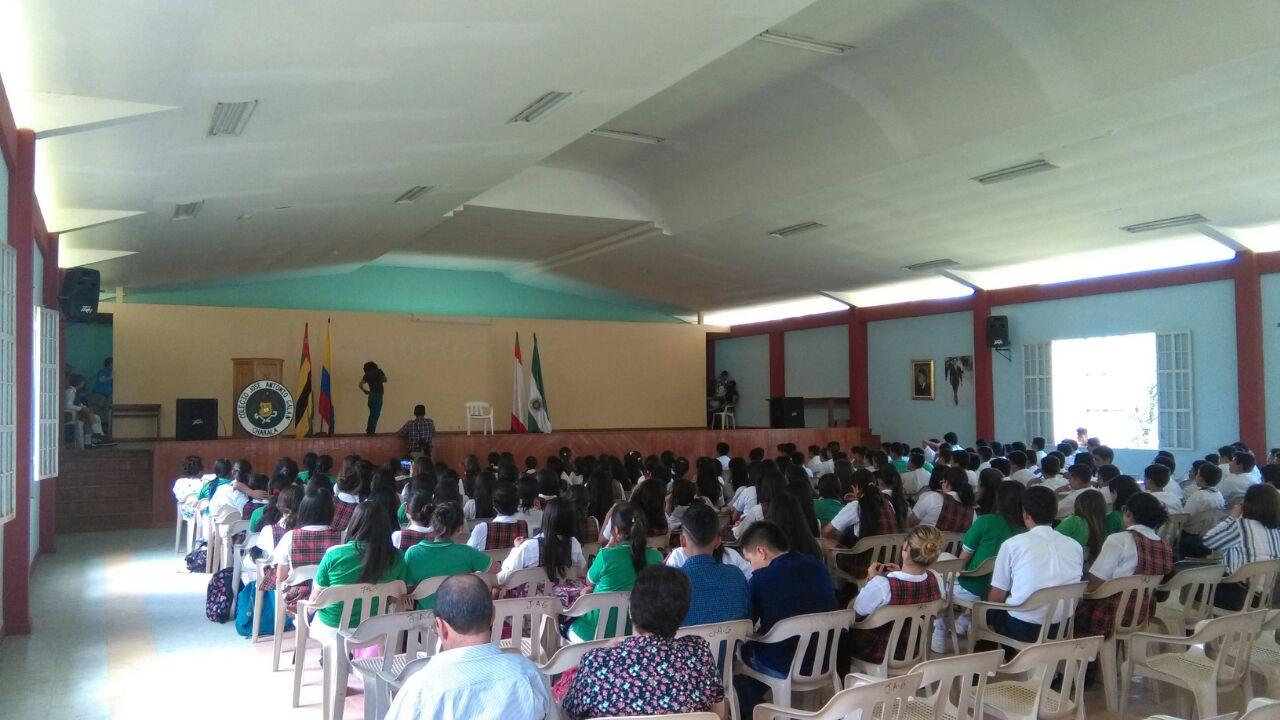 Día del Idioma Colegio Galán  2018