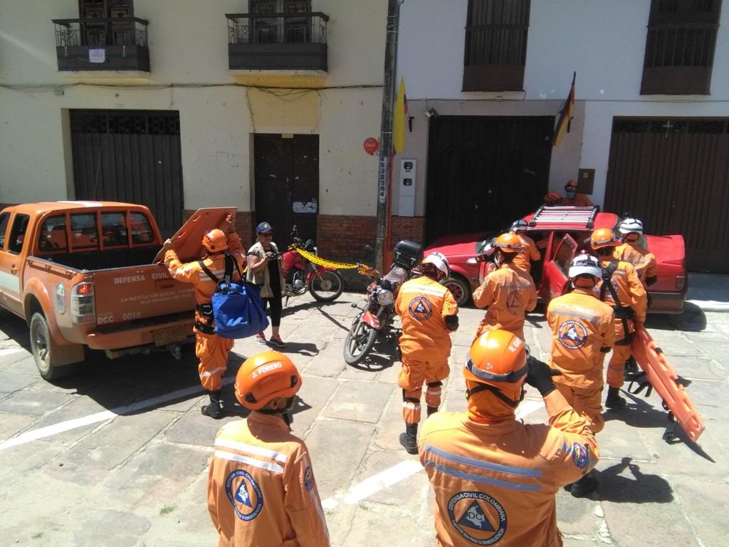 Foto Despierta Charalá-Defensa Civil