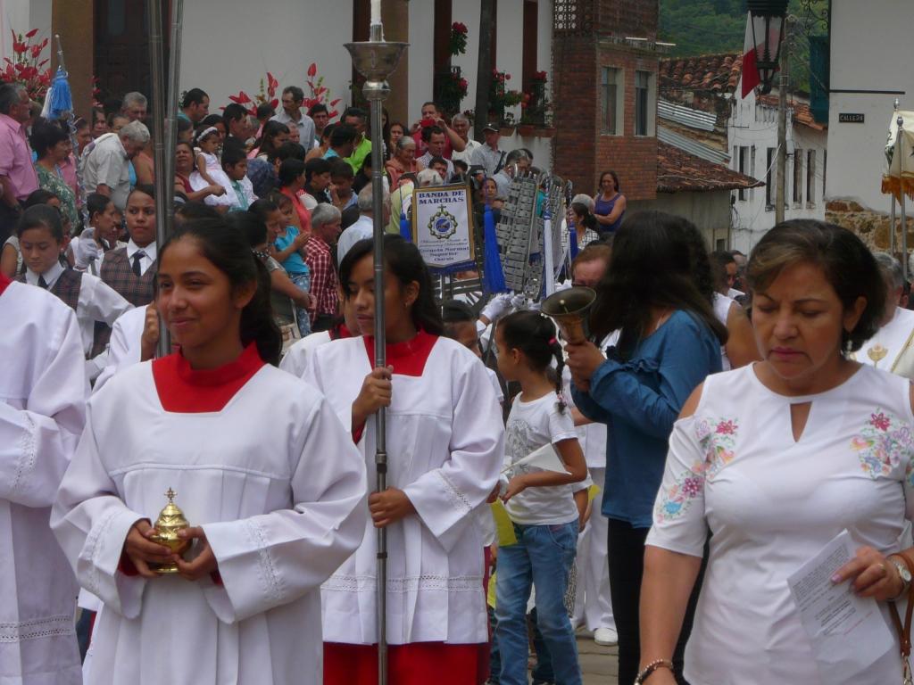 Corpus Christi, junio 3 de 2018 - Charalá