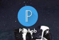 """1.- Descargaras está aplicación de la Play Store o Apple Store """"Pixellab""""."""