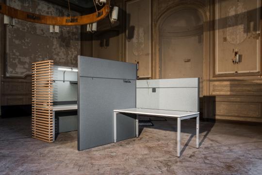 Cloisonnage acoustique - AOS Akustik Office Systeme