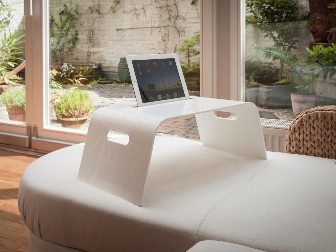 ipad und tablet halterung f r sofa und bett trimborn. Black Bedroom Furniture Sets. Home Design Ideas
