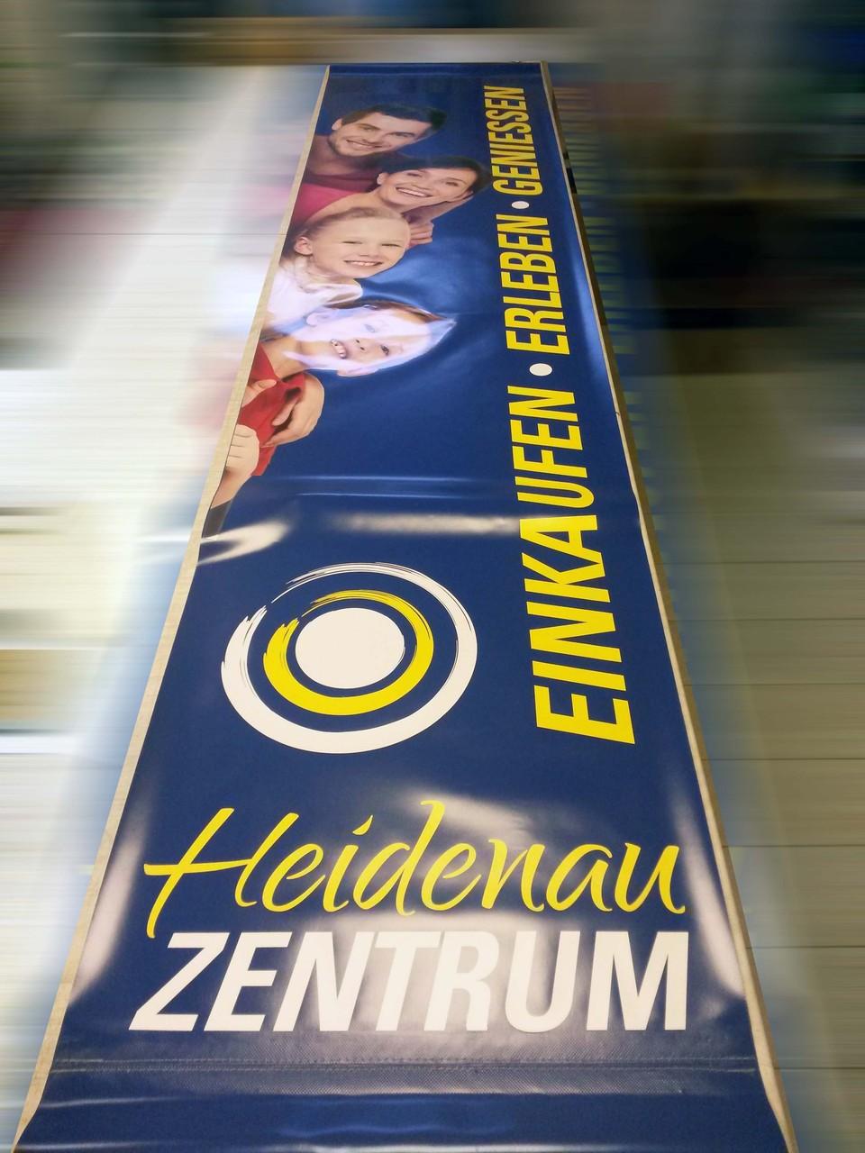 Banner im Sonderformat