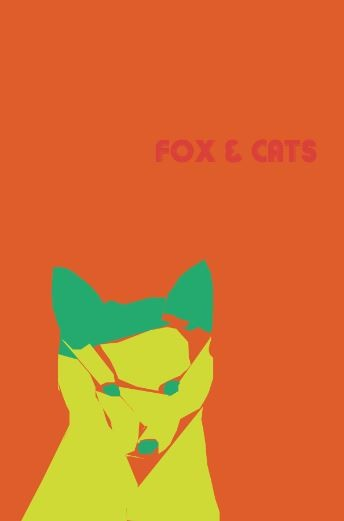 Fox & Cats band poster 2