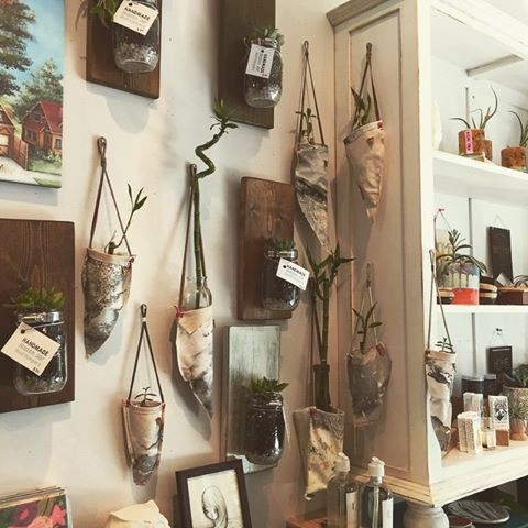 You can now find my original planters made out of recycled materials at Space Montrose at 1706 Westheimer Rd, Houston, TX 77098